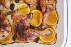 Spiced Baked Chicken with Black Olives, Orange and Thyme | Autoimmune-Paleo.com